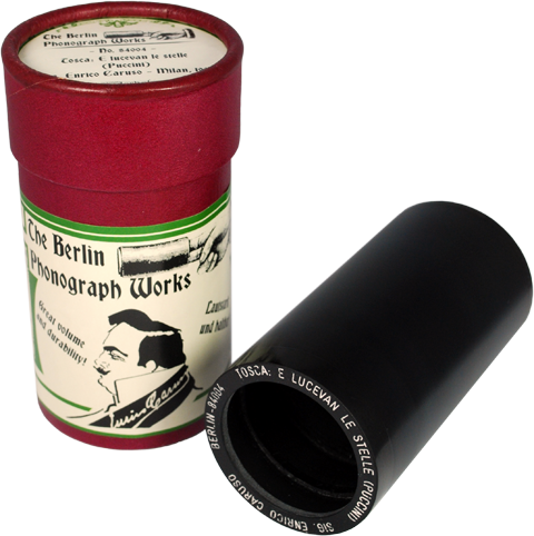 Enrico Caruso Phonograph Cylinder